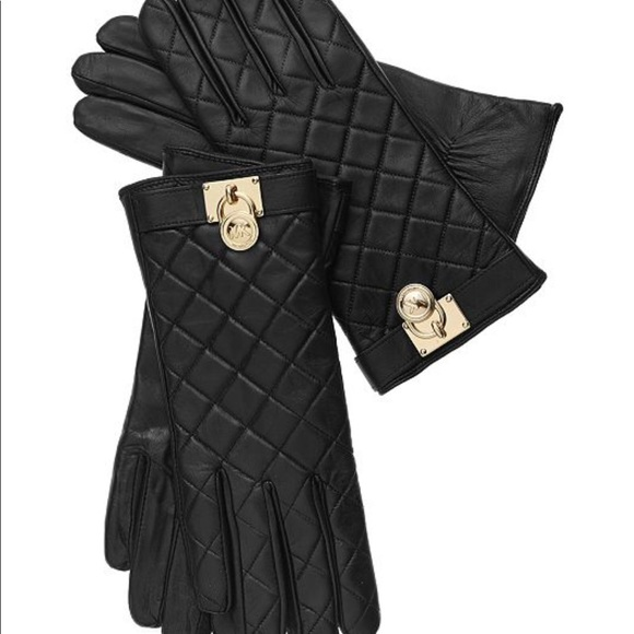 MICHAEL Michael Kors Leather Gloves
